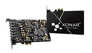 ASUS 192kHz/24-bit ハイレゾ音質の 7.1 PCIe ゲーム向けサウンドカード、150ohm ヘッドフォンアンプ DAC、独自の EMIバックプレート Xonar AE