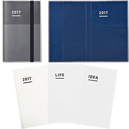 【Amazon.co.jp 限定】 コクヨ ジブン手帳 mini 2017 ファーストキット 11月始まり B6スリム ブラック ニ-JFM1D-17AM