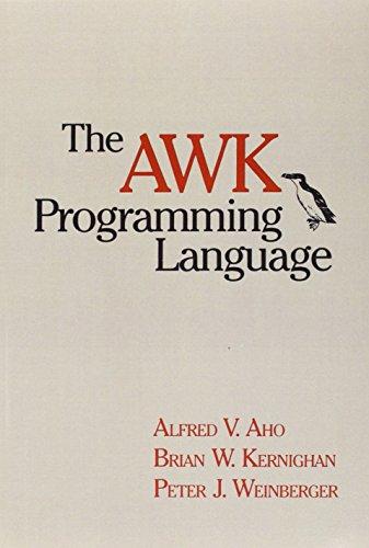Download AWK Programming Language, The 020107981X