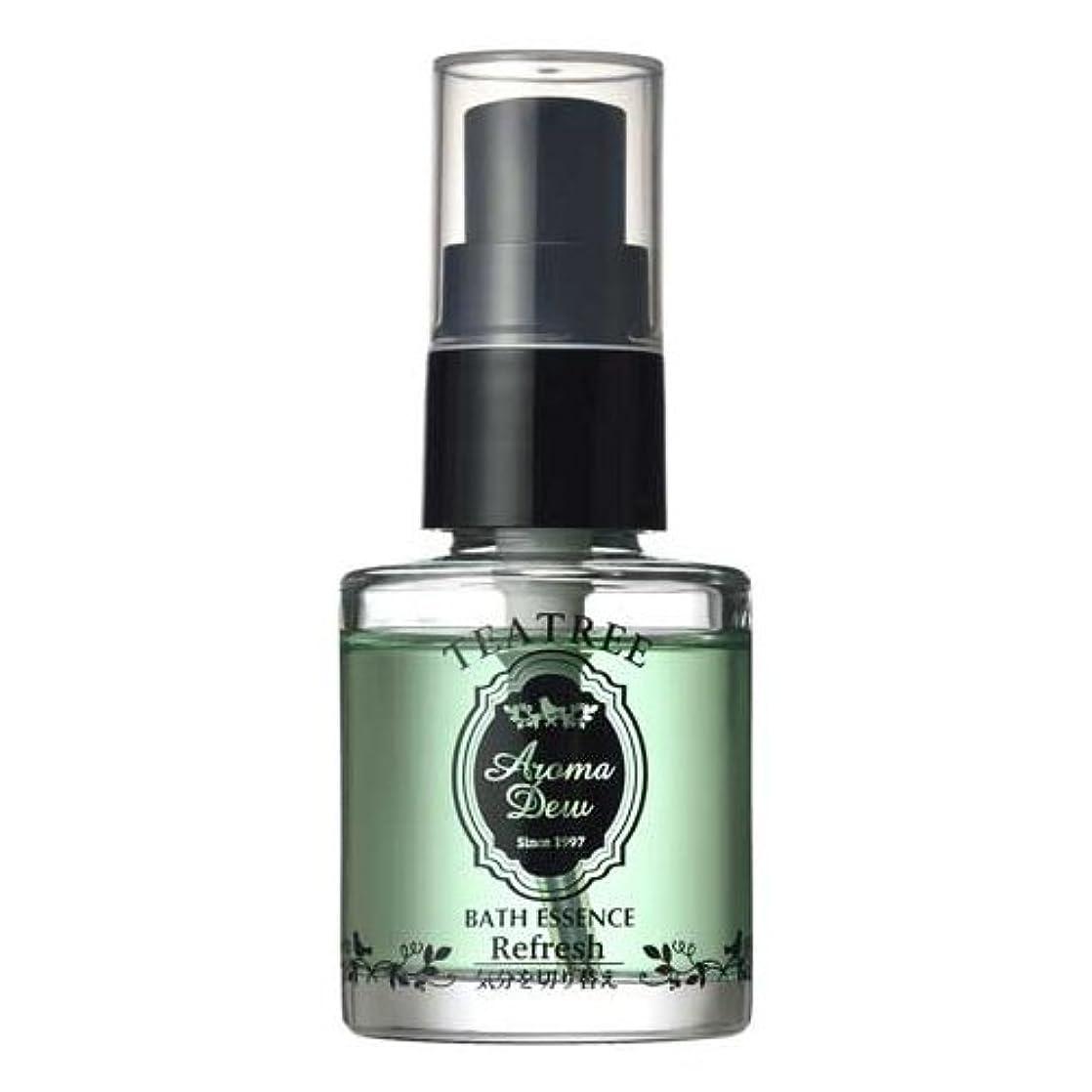 グローバル噂幸運なことにアロマデュウ 香りのバスエッセンス ティーツリーの香り 27ml