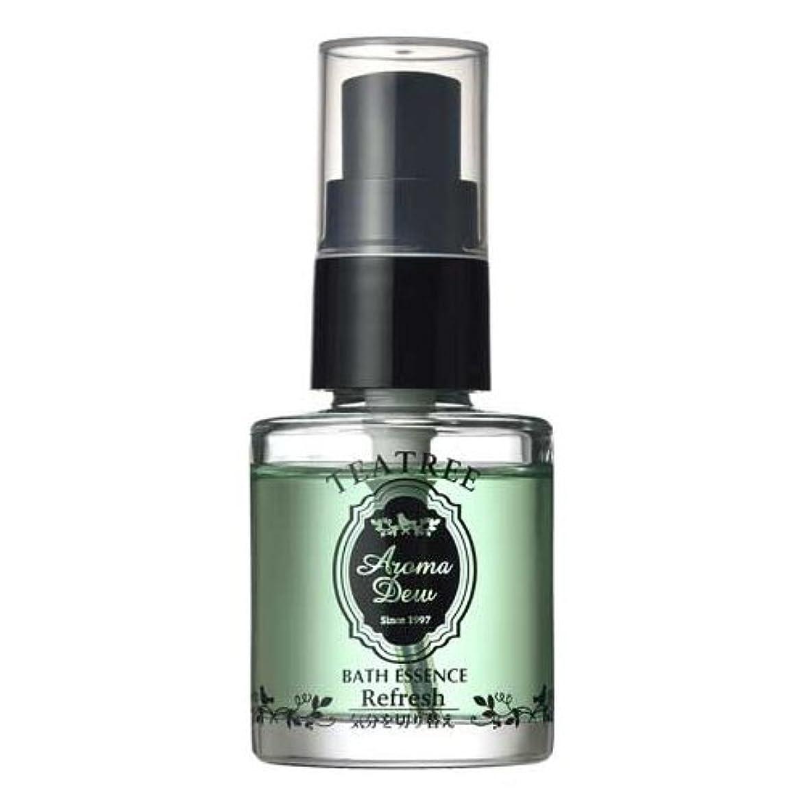 事実高い手順アロマデュウ 香りのバスエッセンス ティーツリーの香り 27ml