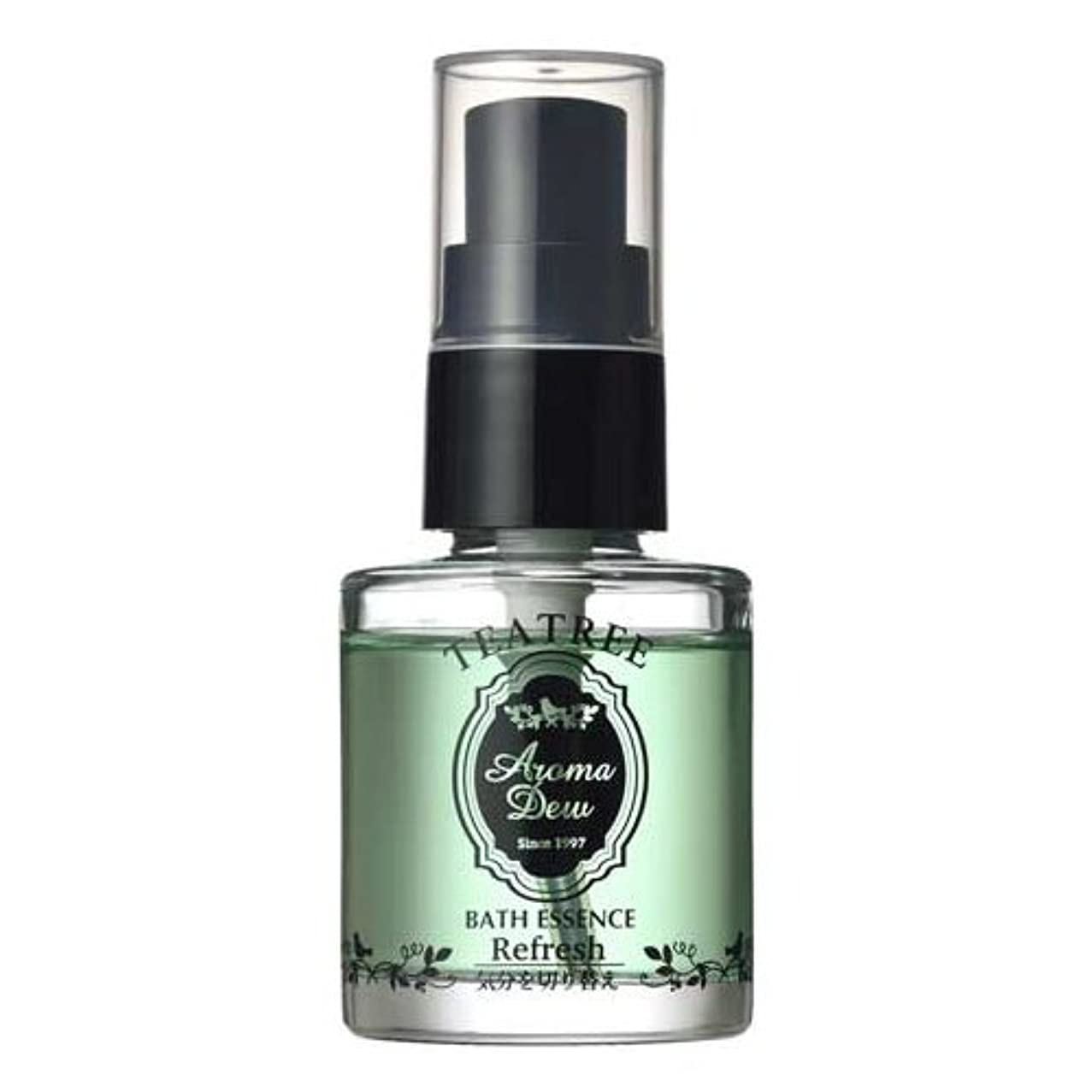 マトロン中古ハックアロマデュウ 香りのバスエッセンス ティーツリーの香り 27ml