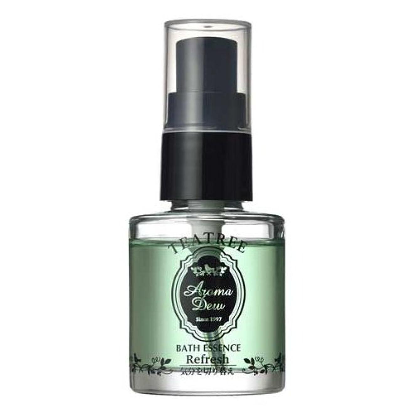 デジタル打撃愚かなアロマデュウ 香りのバスエッセンス ティーツリーの香り 27ml