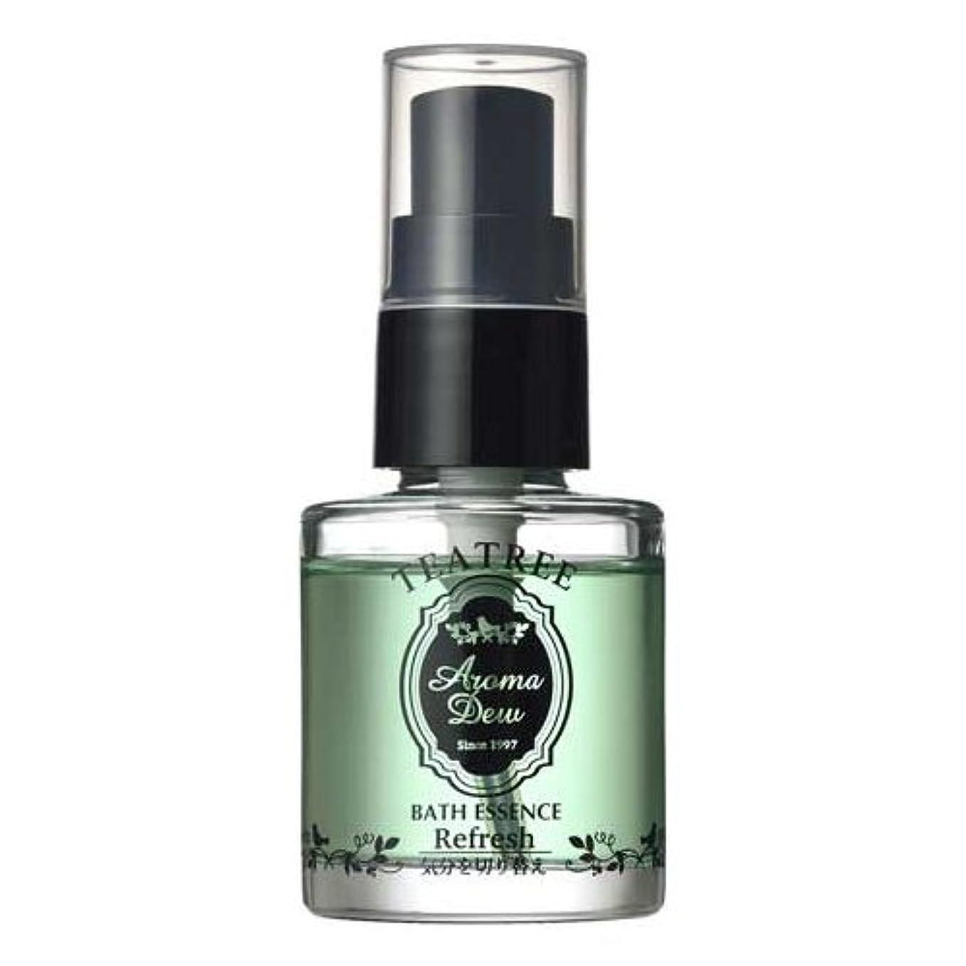 辞任病気前提条件アロマデュウ 香りのバスエッセンス ティーツリーの香り 27ml