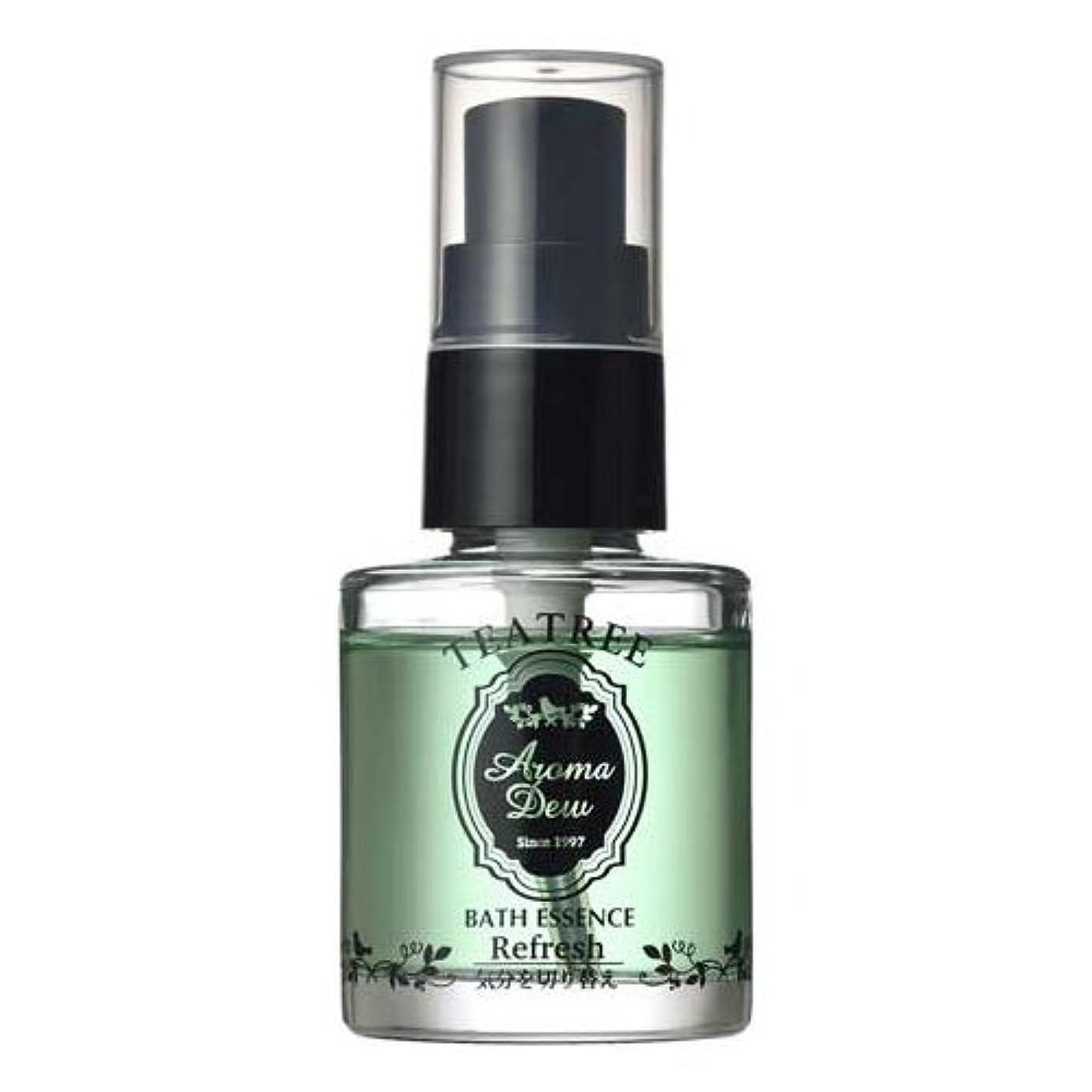 規模不完全専らアロマデュウ 香りのバスエッセンス ティーツリーの香り 27ml