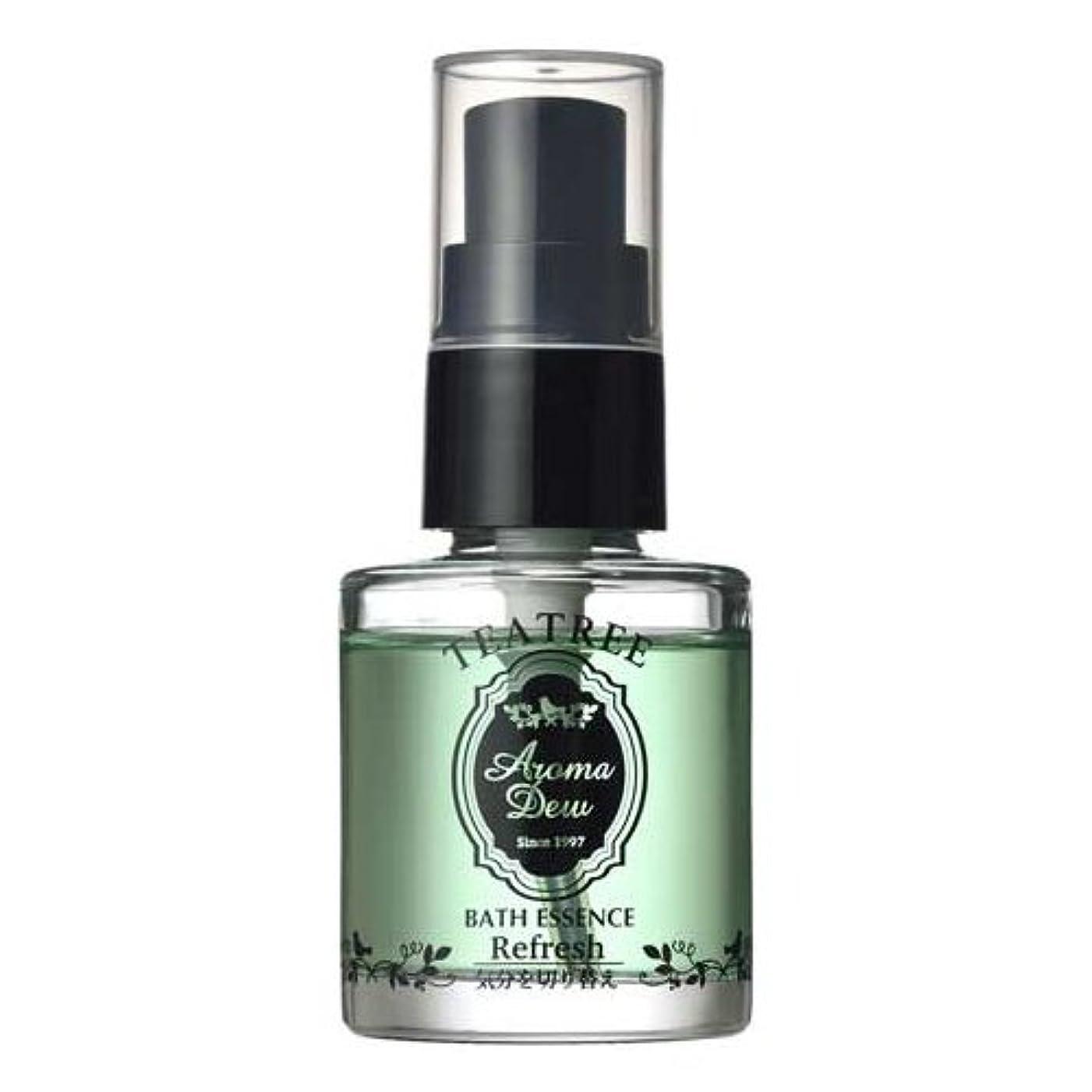 理解する高層ビル報復アロマデュウ 香りのバスエッセンス ティーツリーの香り 27ml