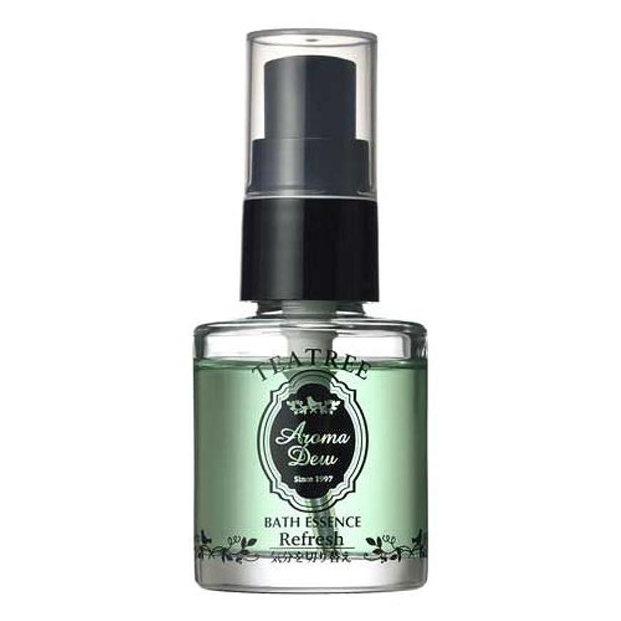 インフルエンザアーティキュレーションソビエトアロマデュウ 香りのバスエッセンス ティーツリーの香り 27ml