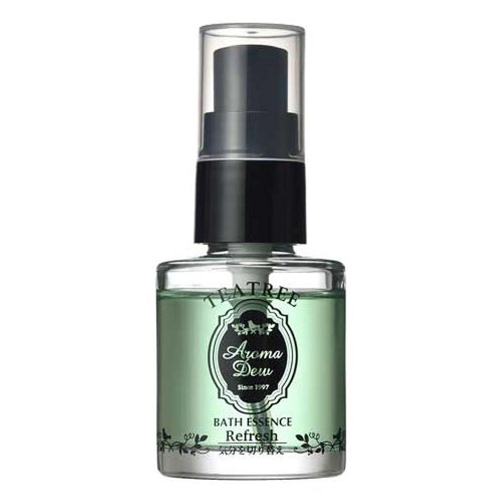 大統領実用的ドキドキアロマデュウ 香りのバスエッセンス ティーツリーの香り 27ml
