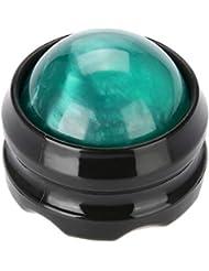 マッサージローラー ボール 4色マッサージャーボディローラーボールセラピーフットヒップリラクサーストレスリリース(03)