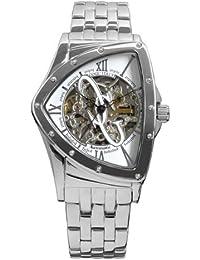 [コグ]COGU コグ 腕時計 メンズ 自動巻き スケルトン トライアングル BNT BNT-WH 白 ホワイト シルバー [国内正規品]