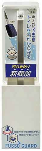 トイレブラシ ケース付き フッ素ガード 磨くたびにトイレをフッ素コーティング TF901