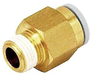 SK11 ワンタッチ管継手 ストレートユニオン 8mmホース用 KQ2H08-01AS