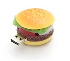 PLATA 【 食品サンプル 】 おもしろ USB メモリ 8GB 【 ハンバーガー 】
