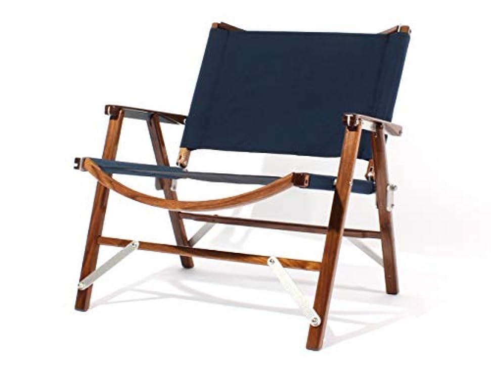 切断する続けるがっかりする【正規品】 Kermit Wide Chair (カーミットワイドチェア) WALNUT Navy (ウォールナットネイビー) KCC-403