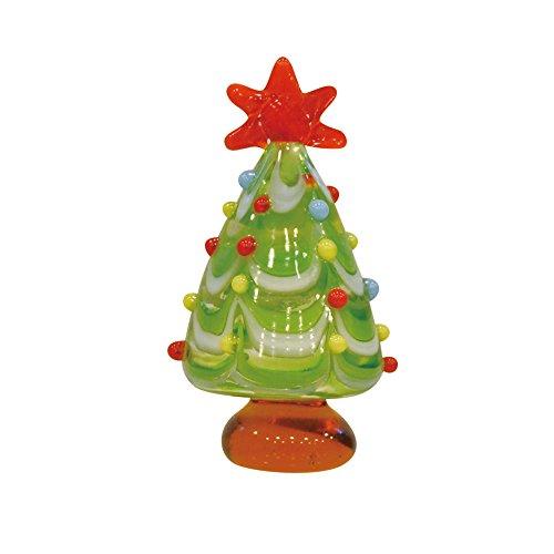 かわいい手作り ガラス細工 クリスマス オーナメント : グラデーションツリー CNK108