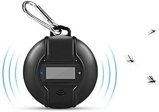 LEDGLE 超音波害虫駆除器 蚊取り器 羅針盤機能付き 蚊除け アウトドア用 夜釣り駆除器 ソーラー式/USB充電式 携帯便利1個セット