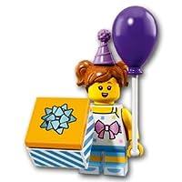 【開封済未使用品】 LEGO レゴ ミニフィギュアシリーズ18 バースデーパーティーガール【71021-06】