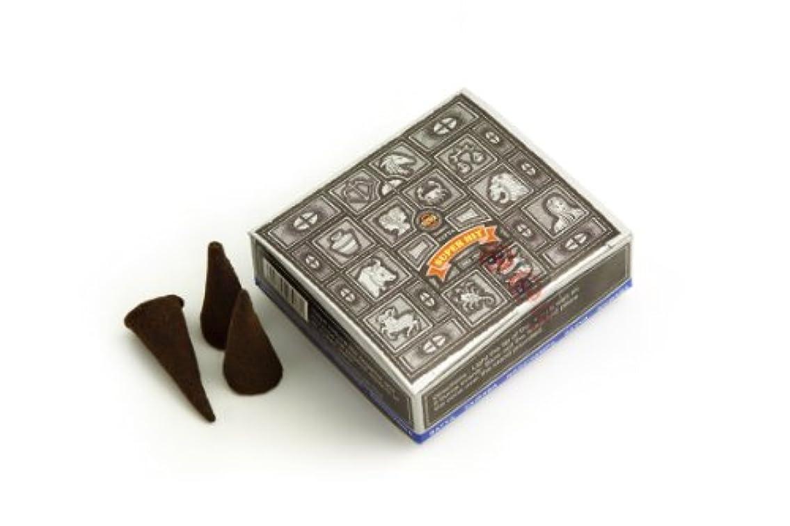 バーマド最終的にシンプルなSatya Nag Champa Super Hit Incense Cones by Satya Nag Champa