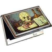 スカル2by Edgar Degasビジネスカードホルダー