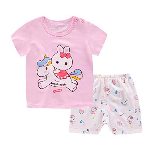 3d2ffbee4c720 子供服 キッズ パジャマ ベビー 男の子 女の子 赤ちゃん 服 上下セット 半袖 Tシャツ 半ズボン