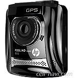 ヒューレット・パッカード f310 (黒) GPS搭載・高画質FULL HD 1080Pドライブレコーダー/ WDR+Gセンサー、動体感知、臨時駐車監視モード、日本語メニュー。〔並行輸入品〕