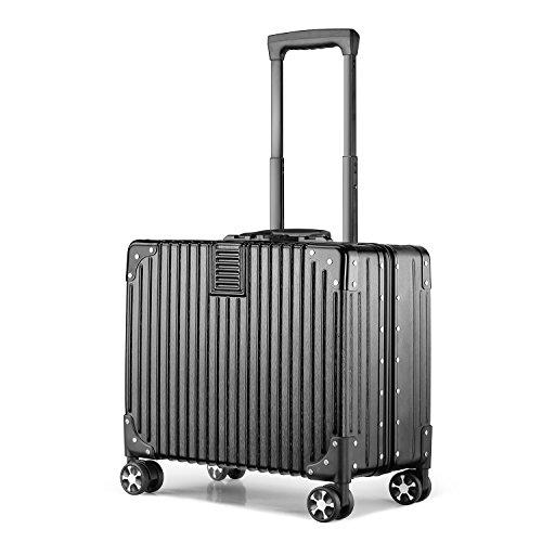 (アスボーグ)ASVOGUE スーツケース キャリーケース 復古風 TSAロック 鏡面仕上げ アルミ...