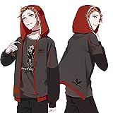 「C.progressive」 アイデンティティV 第五人格 コスプレ 衣装 傭兵 Identity V コート ブラック (服装, M)