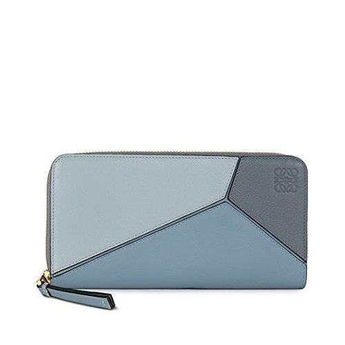 LOEWE(ロエベ) Puzzle Zip Around Wallet softレディース長財布[並行輸入品] (blue)