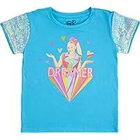 Jojo Siwa Girls' Sequin Short Sleeve T-Shirt
