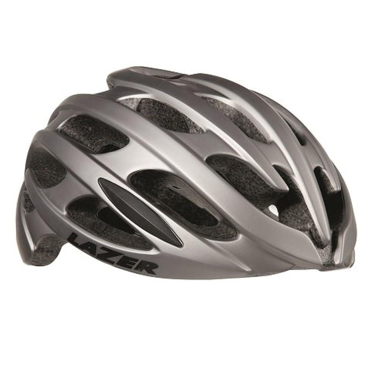 根絶する着る治療LAZER(レーザー) ヘルメット Blade AF アジアンフィットモデル JCF公認 サイクリングヘルメット R2LA838698X マットチタニウム L(58-61cm)