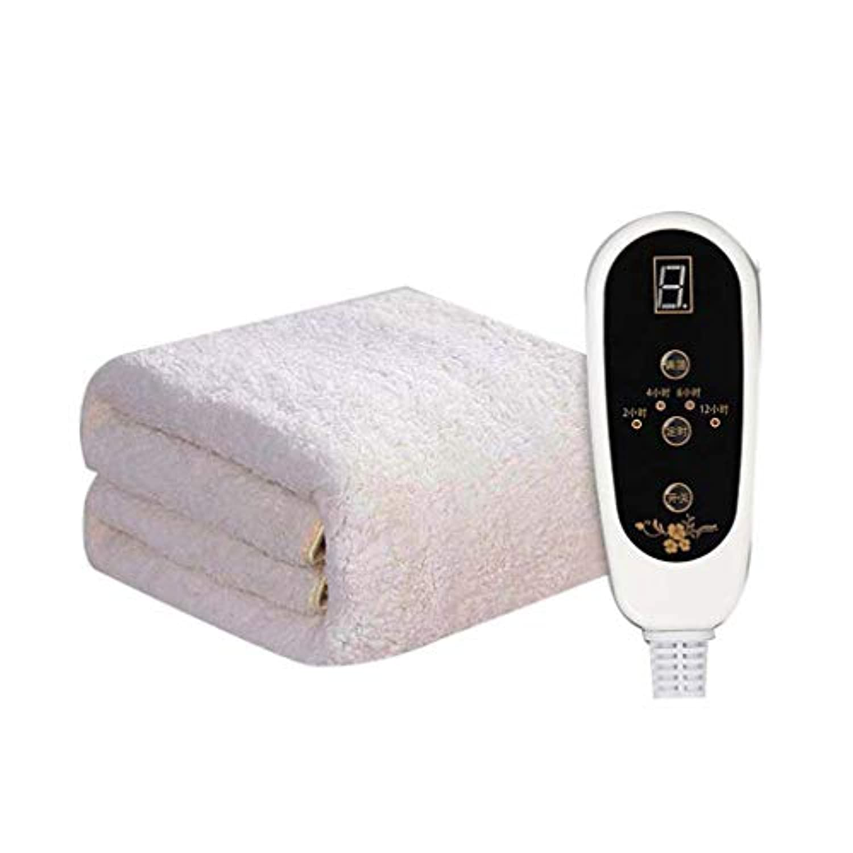 Yhz@ 家庭プラスベルベット肥厚配管ブランケットシングル/ダブル安全な非放射性水循環二重制御の安全な電気毛布