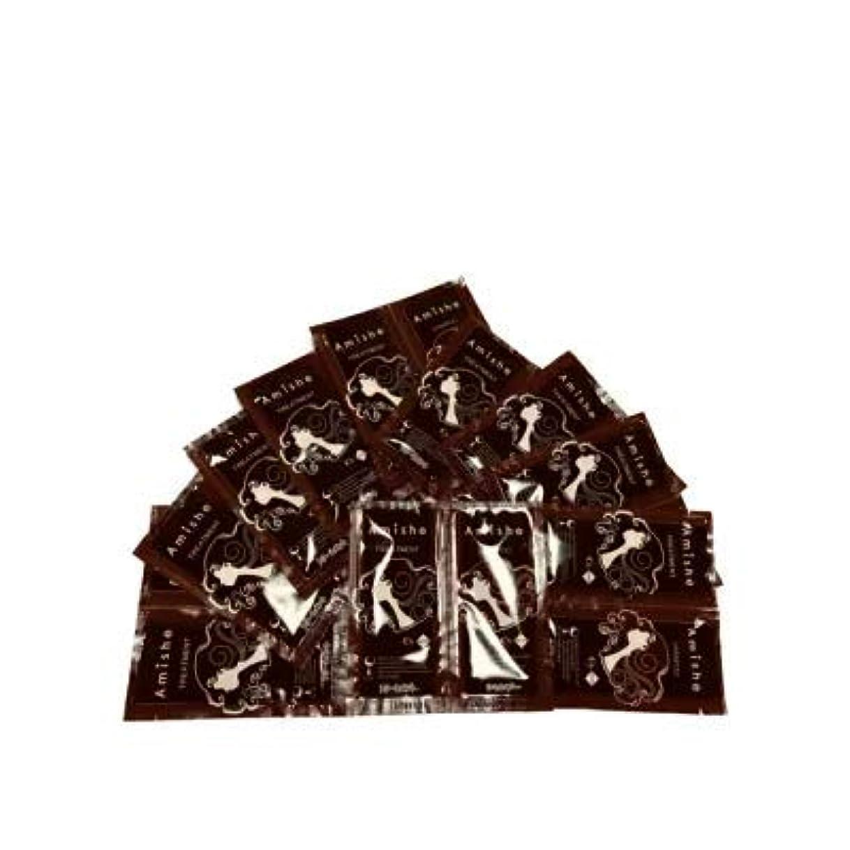 平行山人柄Amish シーズサロン シャンプートリートメント パウチ1回分×10セット