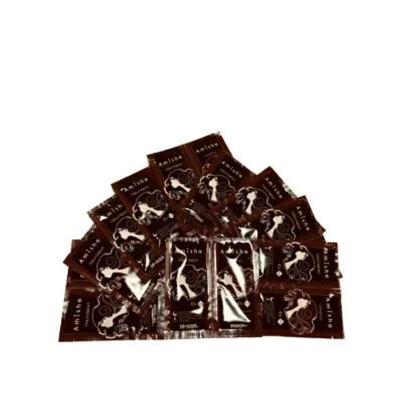 暗くする操作可能検索Amish シーズサロン シャンプートリートメント パウチ1回分×10セット