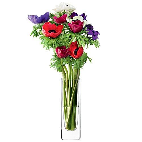 G593-19-301 FLOWER RECTANGULAR VASE TLA2121