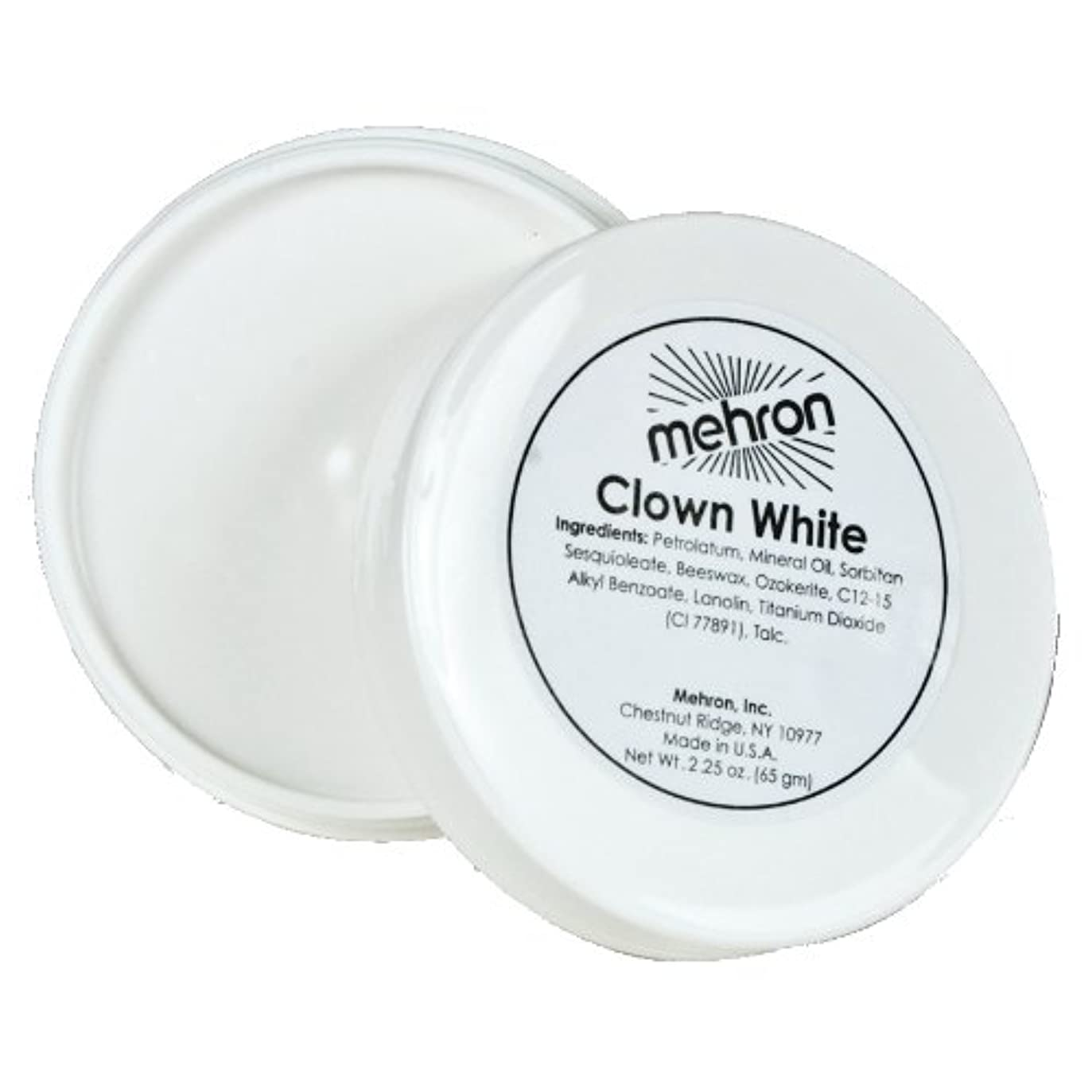 (6 Pack) mehron Clown White (並行輸入品)