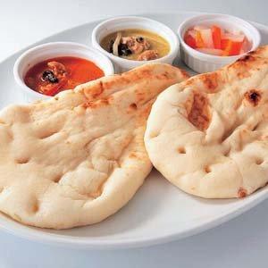 ナン(大)100g×5枚 長期保存!便利な冷凍できるパン【冷凍パン】【朝食】(nh151266)