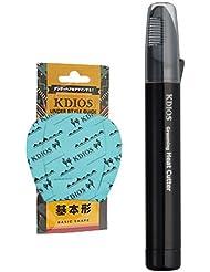 【男性用】 ケディオス(KDIOS) グルーミングヒートカッター + アンダースタイルガイド