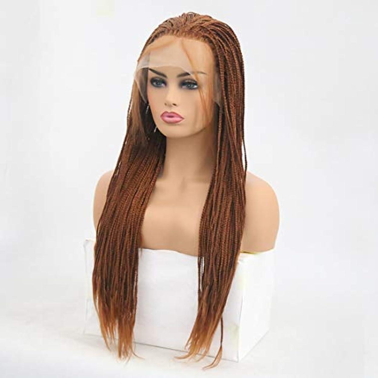 クラッシュちらつきガロンSummerys 女性のための前髪の髪のかつらで絹のような長いストレート黒かつら耐熱合成かつら (Size : 24 inches)