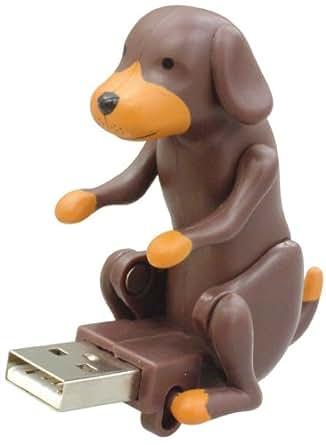 Humping Dog Black ハンピングドッグ USB フィギュア