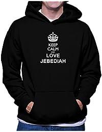 Keep calm and love Jebediah フーディー