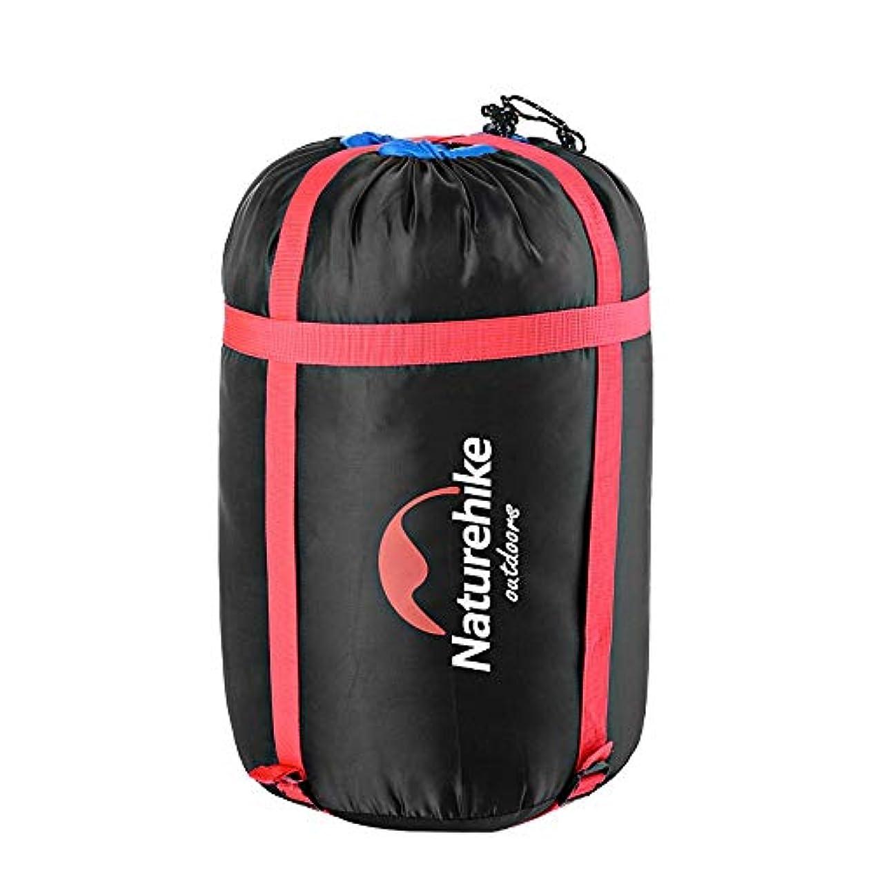 特定のはっきりしない闇キャンプハイキングのスリーピングバッグの圧縮パック
