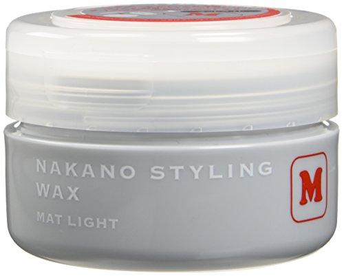 ナカノ スタイリングワックス M マットライト 90g