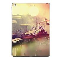 第1世代 iPad Pro 12.9 inch インチ 共通 スキンシール apple アップル アイパッド プロ A1584 A1652 タブレット tablet シール ステッカー ケース 保護シール 背面 人気 単品 おしゃれ ドラム 音楽 バンド 011443