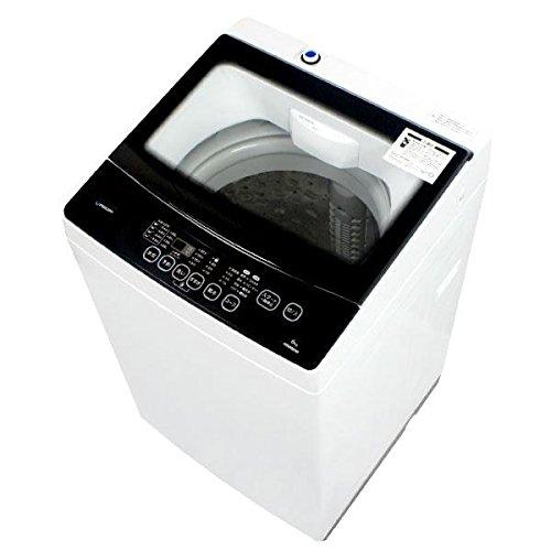 maxzen 全自動洗濯機 6.0kg クリアパネル 槽洗浄...