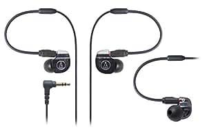 audio-technica IM Series カナル型モニターイヤホン デュアル・バランスド・アーマチュア型 ATH-IM02