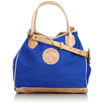 Canvas Tote w/ Strap 7631: Royal