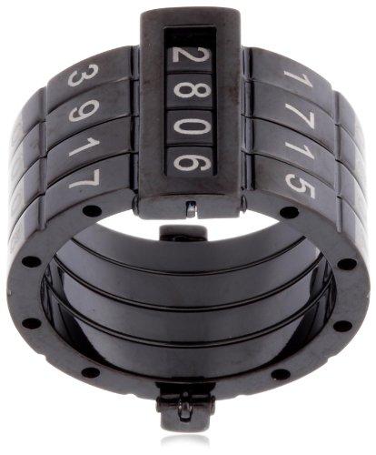 [スウォッチ ビジュ]swatch bijoux ファッションリング SECRET CODE RING BLACK, SIZE6 日本サイズ11号 JRB003-6 [正規輸入品] / swatch bijoux(スウォッチ ビジュ)