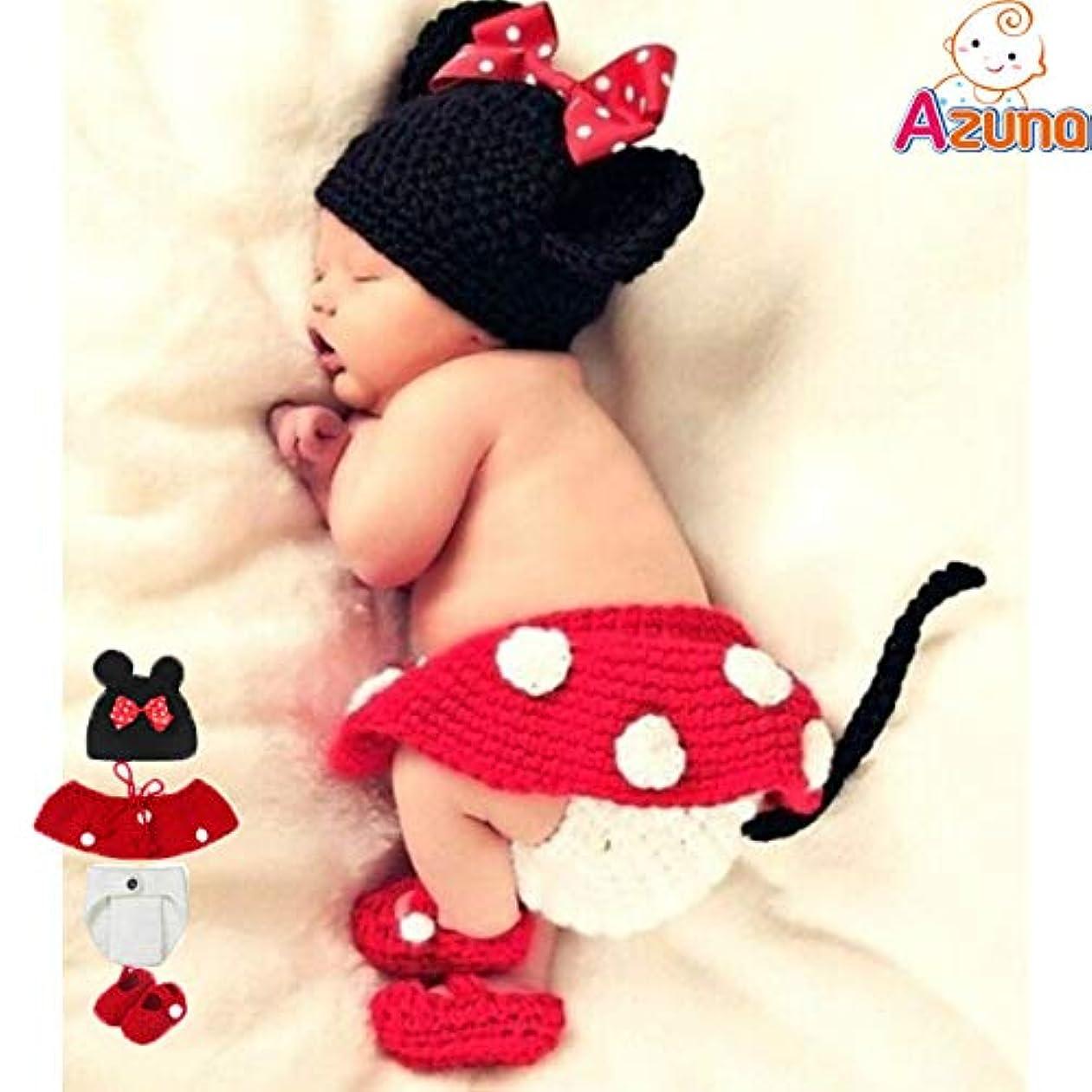 幾何学発動機教養がある(ニニモール) Ninimour ミニー コスチューム 寝相アート ベビー服 着ぐるみ 新生児 赤ちゃん  出産祝い