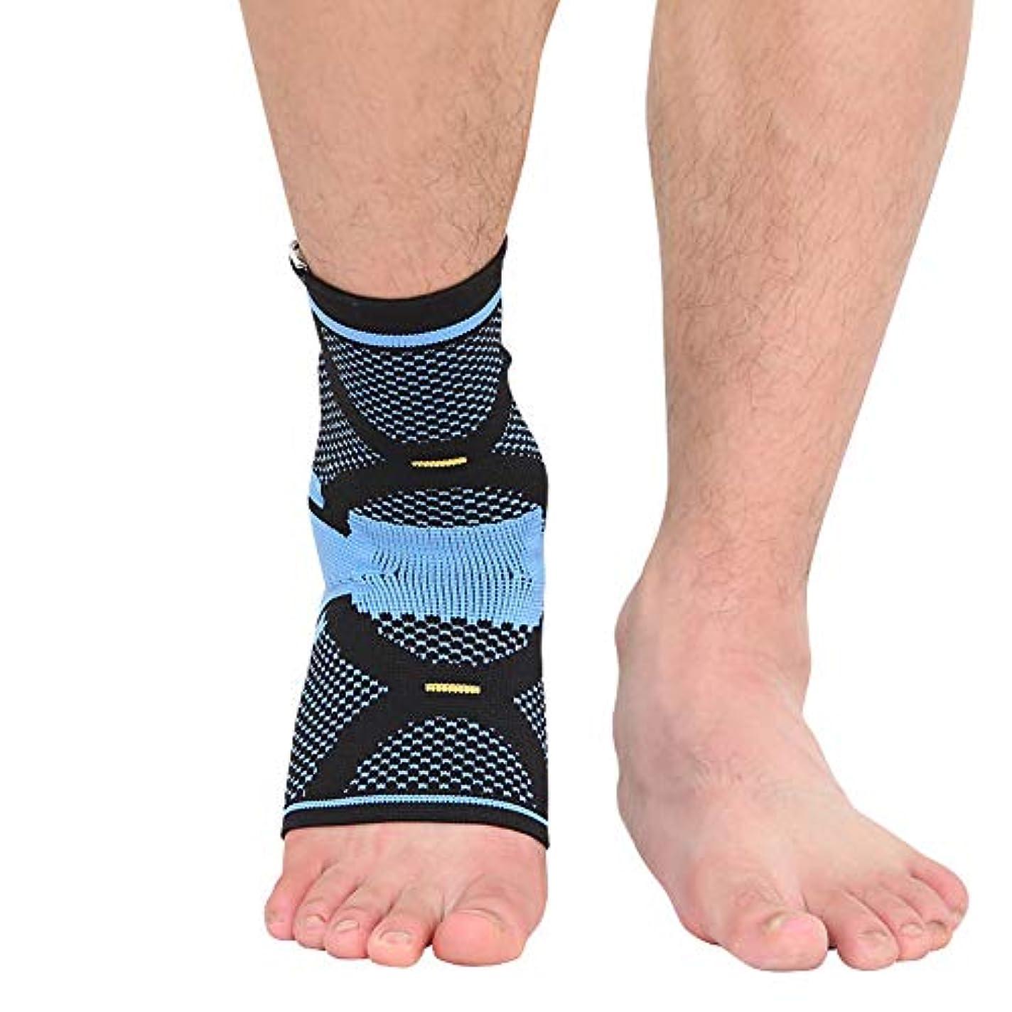 ムスタチオ腹部多様体調節可能な足首ブレース通気性ナイロン素材スーパー弾性、スポーツに最適、慢性足首のひずみ、捻挫疲労などから保護します