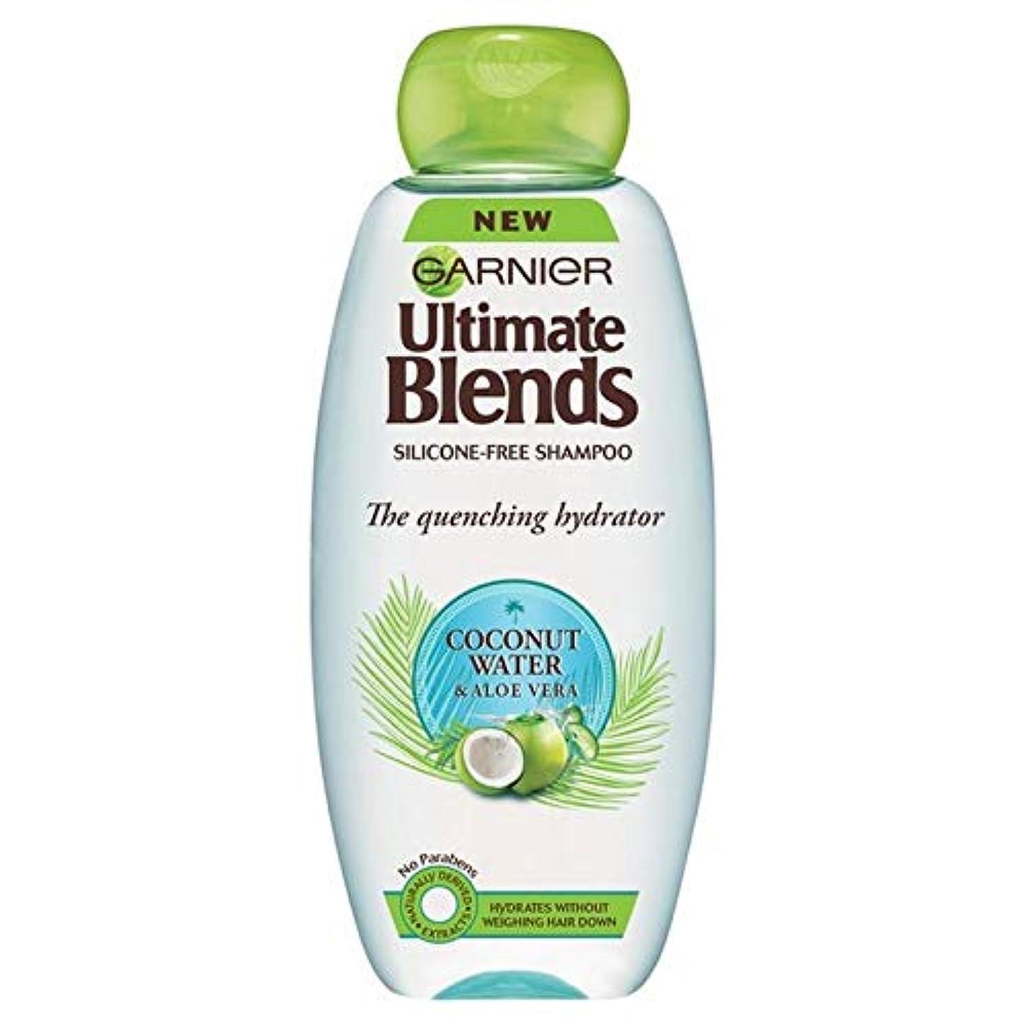 周り学校自宅で[Garnier ] ガルニエ究極のブレンドココナッツ水ドライヘアシャンプー360ミリリットル - Garnier Ultimate Blends Coconut Water Dry Hair Shampoo 360ml...